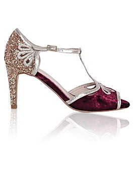 Perfect Esme Glitter Heel Sandals