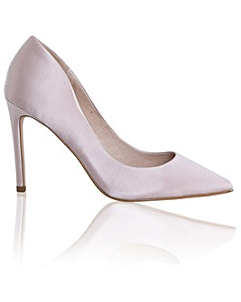 Perfect Meghan High Heel Silk Court