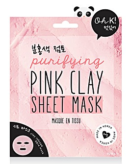 Oh K! Pink Clay Sheet Mask
