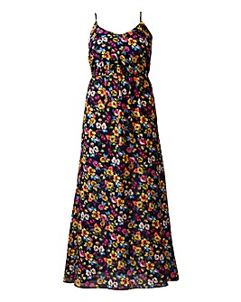 AX Paris Multi Floral Strappy Maxi Dress