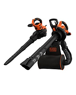 Black + Decker 3000W Backpack Blowvac