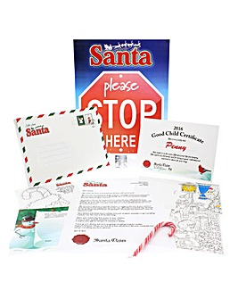 Personalised Letter to Santa Gift Set