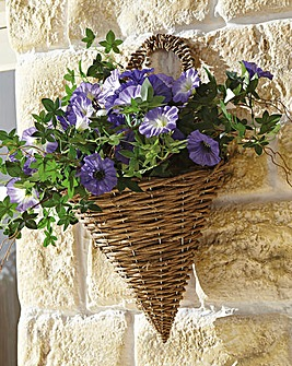Petunia Wall Basket
