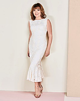 Lorraine Kelly Peplum Dress