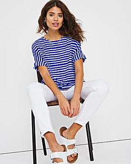 Pleat Hem Top