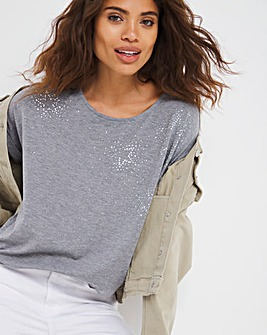 Sparkle Star Relaxed T-Shirt