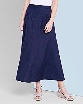 Julipa Linen Mix Skirt 30''