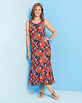 Julipa Reversible Crinkle Sun Dress