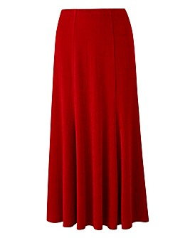 Plain Slinky Skirt Length 29in