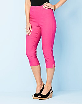 Pull On Capri Trousers