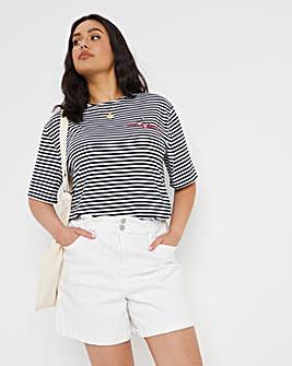Stripe Longline T-shirt