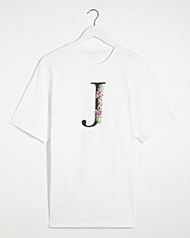 J' Initial T-shirt