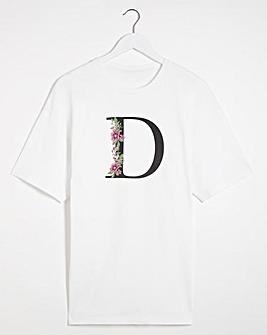 D' Initial T-shirt