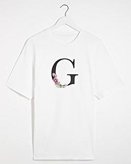 G' Initial T-shirt
