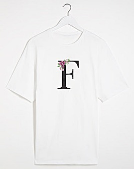 F' Initial T-shirt
