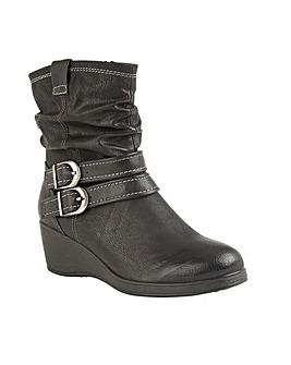 Lotus Hunston Wedge Ankle Boots