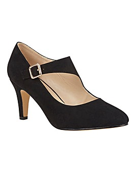 Lotus Laurana Almond-Toe Court Shoes