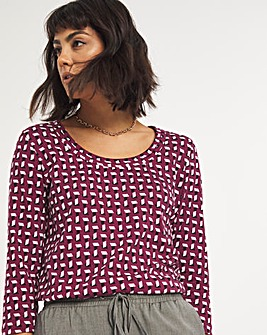 3/4 Sleeve Value Cotton Top