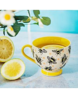 Busy Bees Stamped Mug