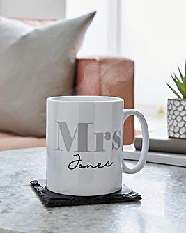 Personailsed Mrs Mug