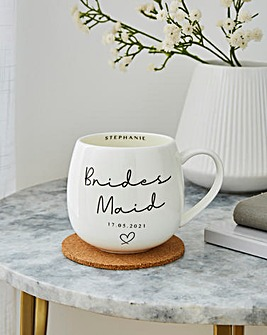 Personailsed Bridesmaid Mug