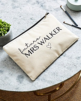 Personailsed Future Mrs Cosmetic Bag