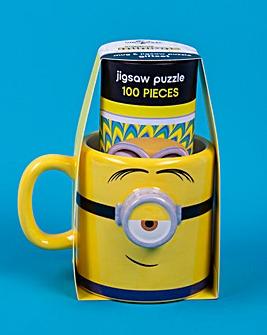 Minions Mug and Puzzle Gift Set