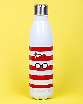 Where's Wally 500ml Metal Water Bottle