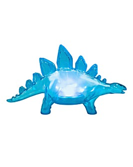 Stegosaurus Mood Light Blue