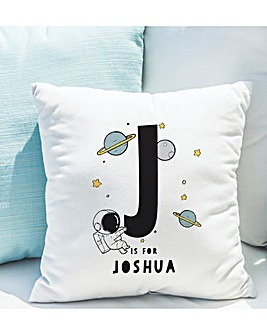 Personalised Planets Cushion