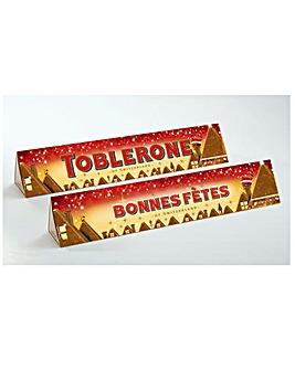 Personalised Santa Toblerone
