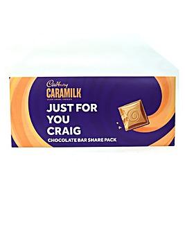 Personalised Caramilk Sharepack