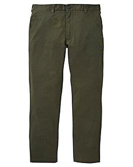 Black Label Linen Mix Smart Slim Trouser Short 29
