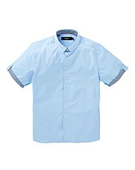 Black Label Plain Trim Shirt Regular