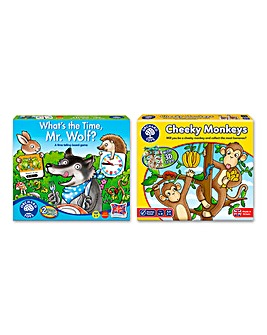 Pack of 2 Counting & Time Telling Games