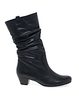 Gabor Rachel Extra Wide Leather Boots