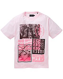 Label J Neon City Print Tee Regular
