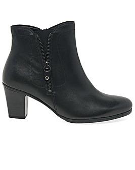 Gabor Miriam Womens Zip Ankle Boots