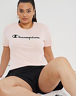 Champion Crewneck Big Logo T-Shirt