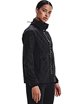 Under Armour Rush Woven Print Jacket