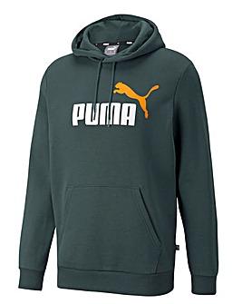 Puma Essential +2 Big Logo Hoodie