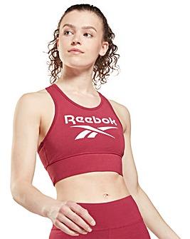 Reebok Big Logo Cotton Bralette