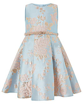 Monsoon Cordella Jacquard Dress