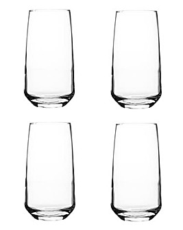 Ravenhead Majestic 4 Hi Ball Glasses