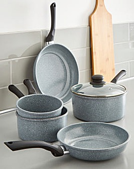 Essential Grey 5 Piece Pan Set