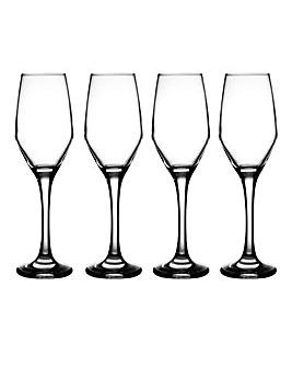 Ravenhead Majestic 4 Flute Glasses