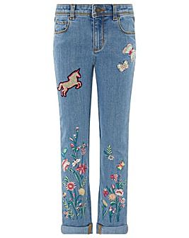 Monsoon Blossom Unicorn Jean