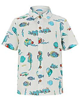 Monsoon Kaspian Stripe Fish Shirt