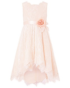 Monsoon Rebecca Hi-Low Lace Dress