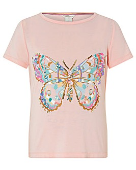 Monsoon Dorris Butterfly Tshirt